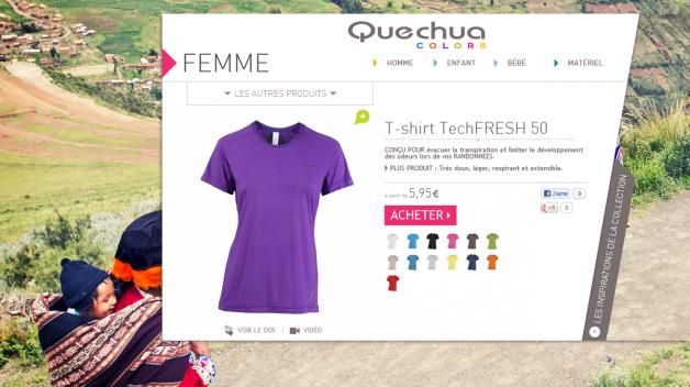 Quechua Colors - Tshirts