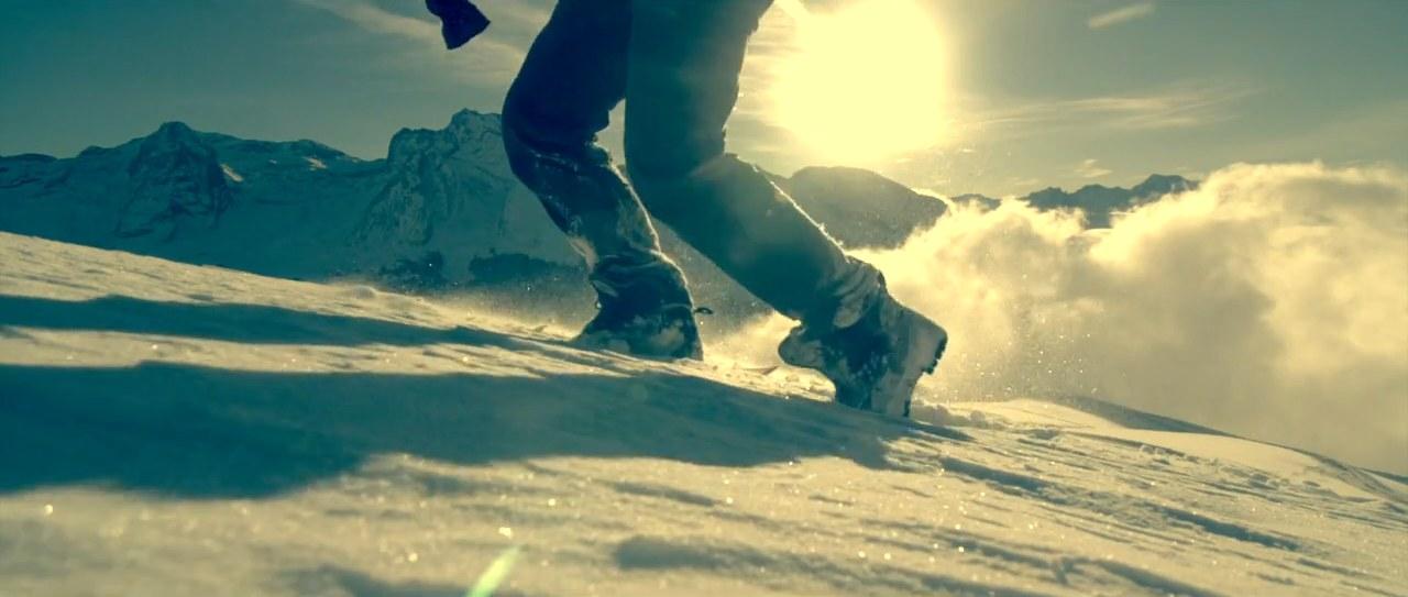 premieres neiges dans la vallee d ossau