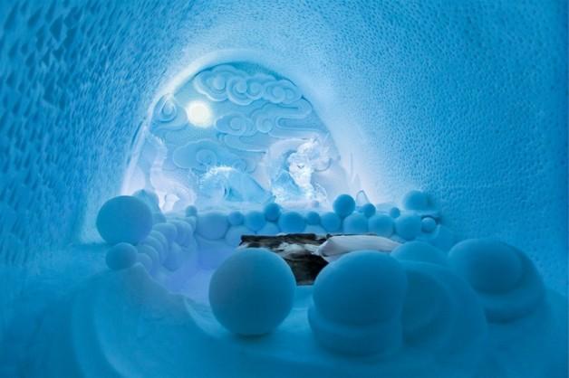 hôtel en glace