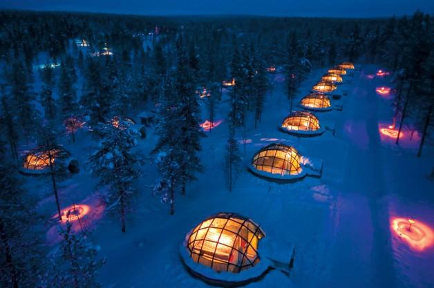 nuit dans un igloo