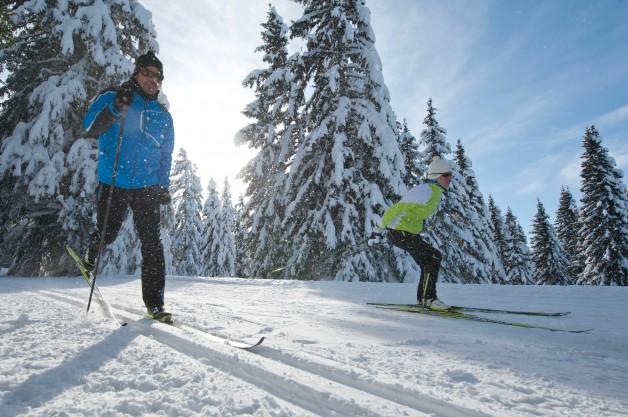 faire du ski en Finlande