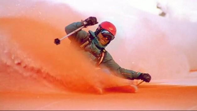 Journée ski colorée1