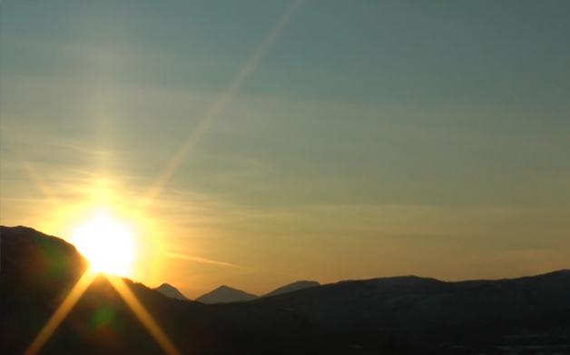 le soleil de minuit