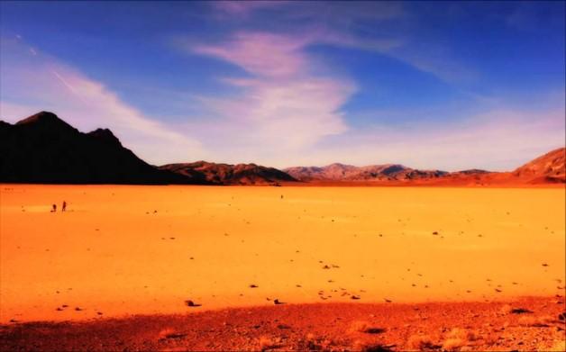 la vallée de la mort nature