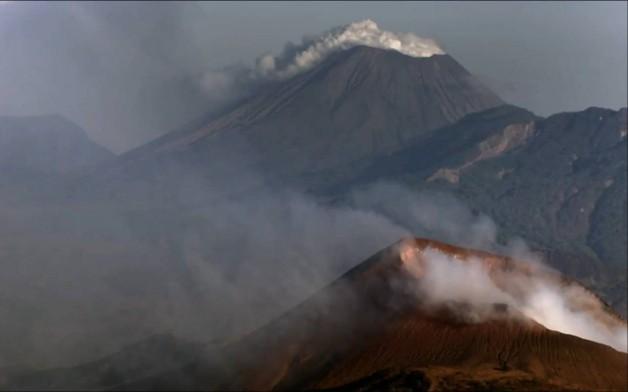 volcan de montagne