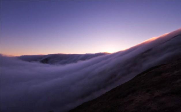 San Francisco sous le brouillard