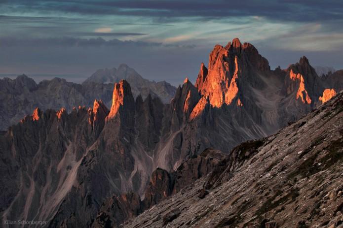 Randonnée dans les Alpes - Dolomites - Kilian Schönberger