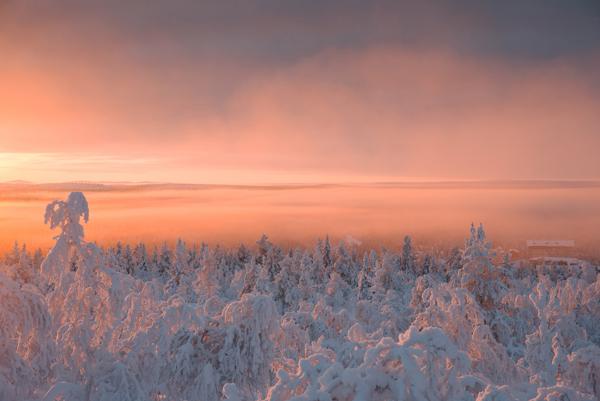 neige et lumière