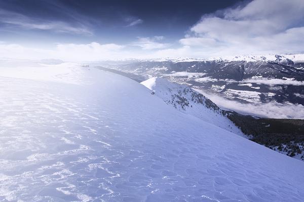 neige fond d ecran