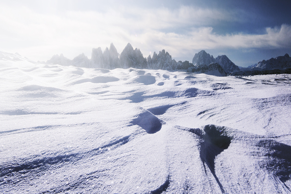 désert de neige