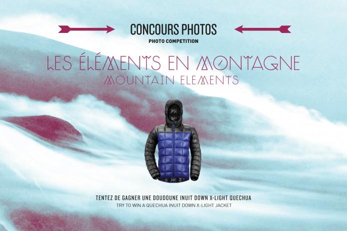 concours photos «les éléments en montagne»
