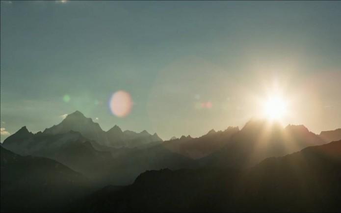 photo de montagnes