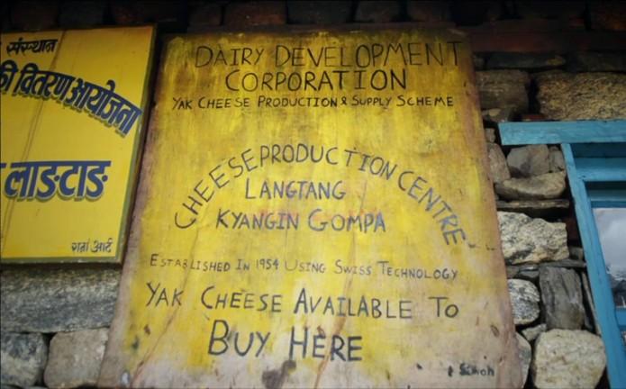 Fabrication de fromage au Népal