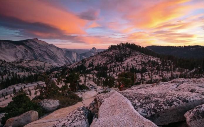 montagne Yosemite