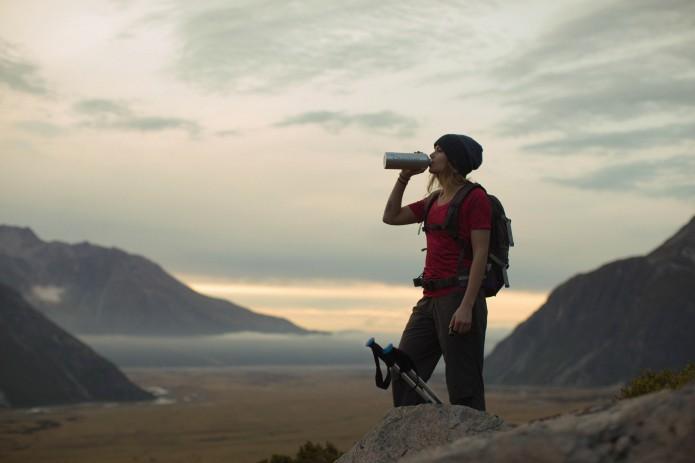 hydratation et randonnée