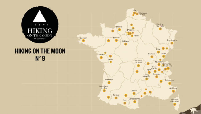Hiking on the Moon: Entre ciel et terre