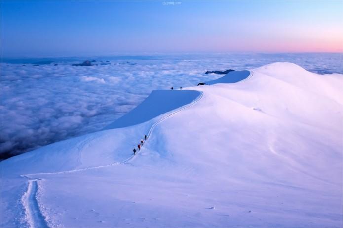 mont-blanc panorama