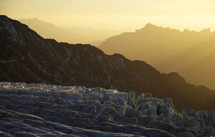 Glacier landscape by Pierre Ancel