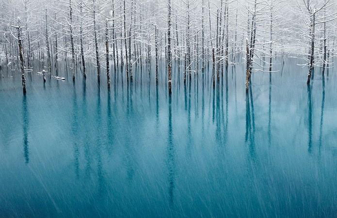 9_Blue Pond In Japan