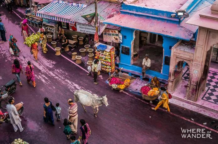 Kien Lam_Pushkar Square, India