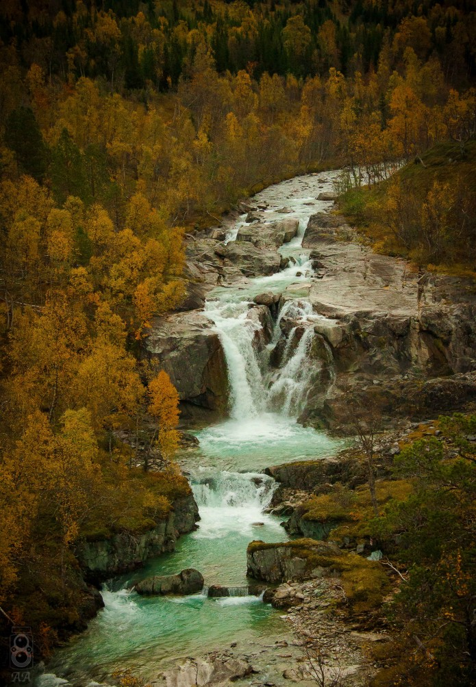 Autumn Colors - Tromso, Norway