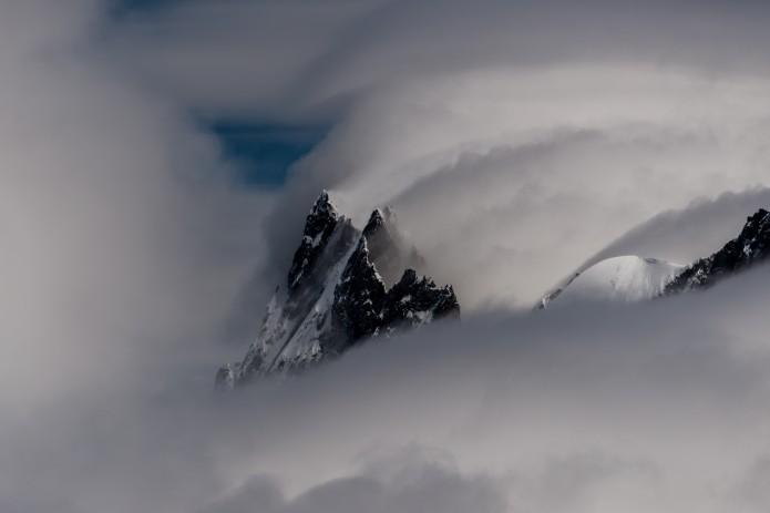 François Guion montagne france dans les nuages