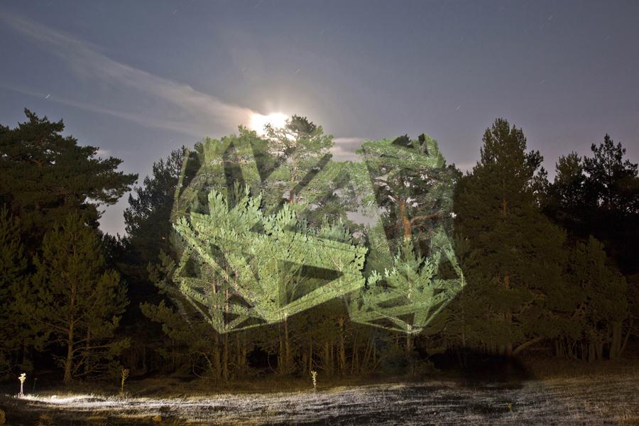 Javier Riera géometrie et paysage