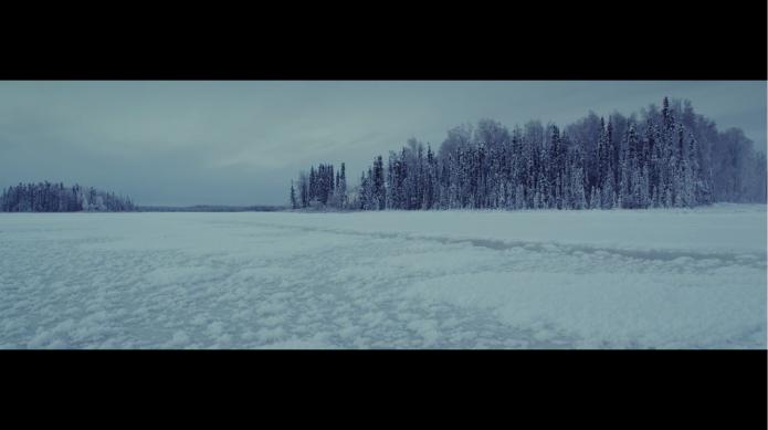 Alaska et glace, alaska paysage hiver