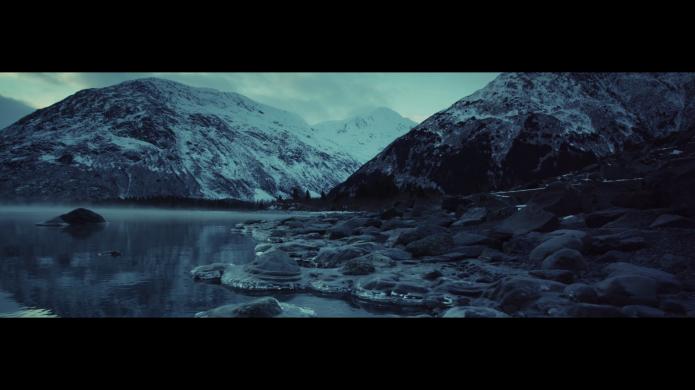 Alaska frozen winter - landscape - Paysage gelé Alaska