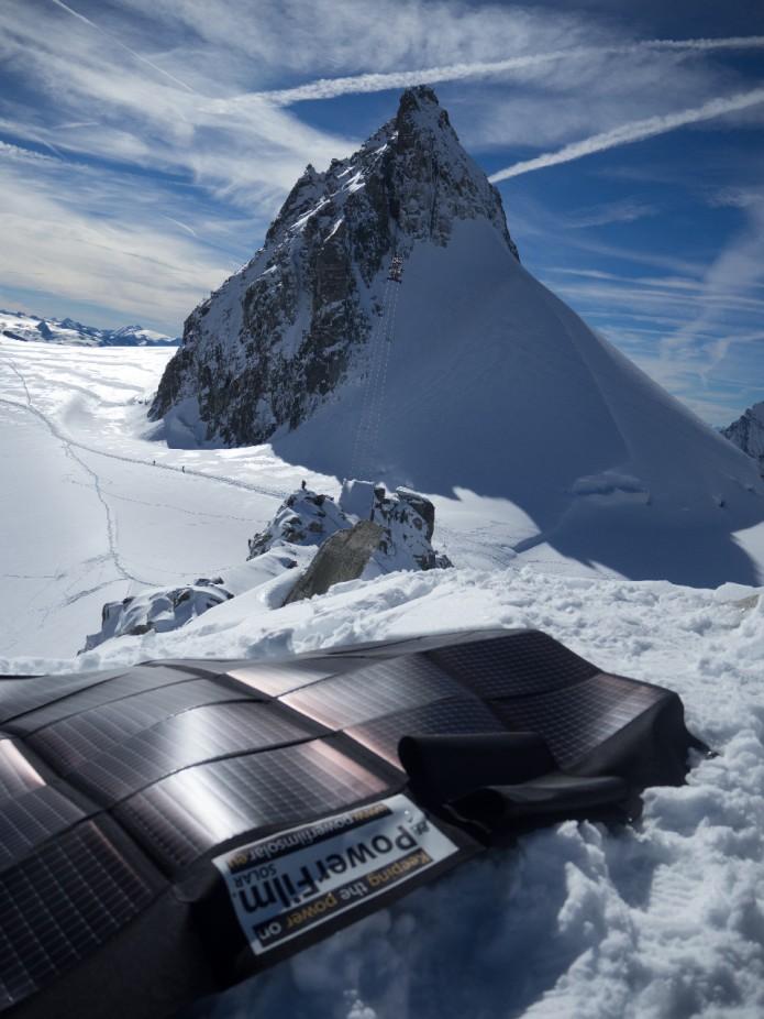 Panorama du mont blanc Filippo Blengini