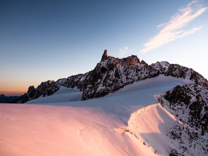 Sunrise mont blanc Filippo Blengini