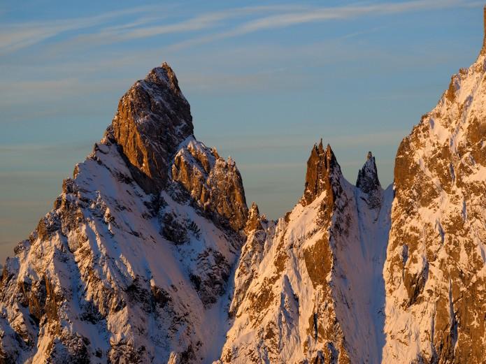 panorama Mont blanc par Filippo Blengini