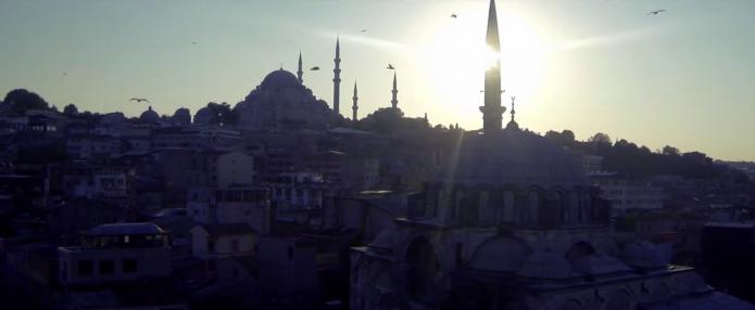 Soleil sur istanbul