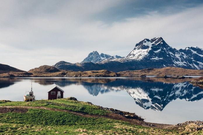 The Lofoten Islands by Guillaume Bertrand
