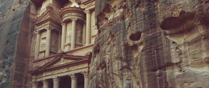 visite petra jordanie
