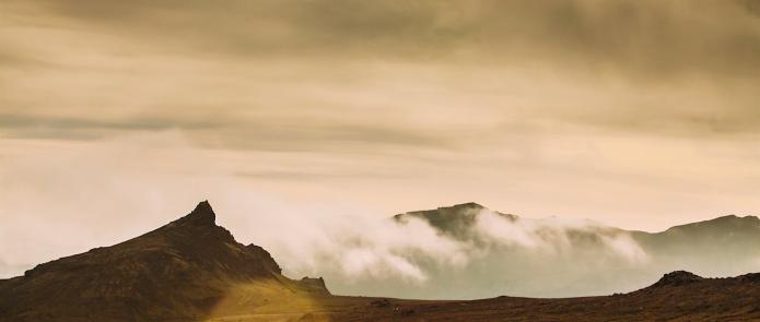 Islande en tente