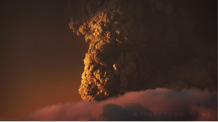 Calbuco Volcan Chili