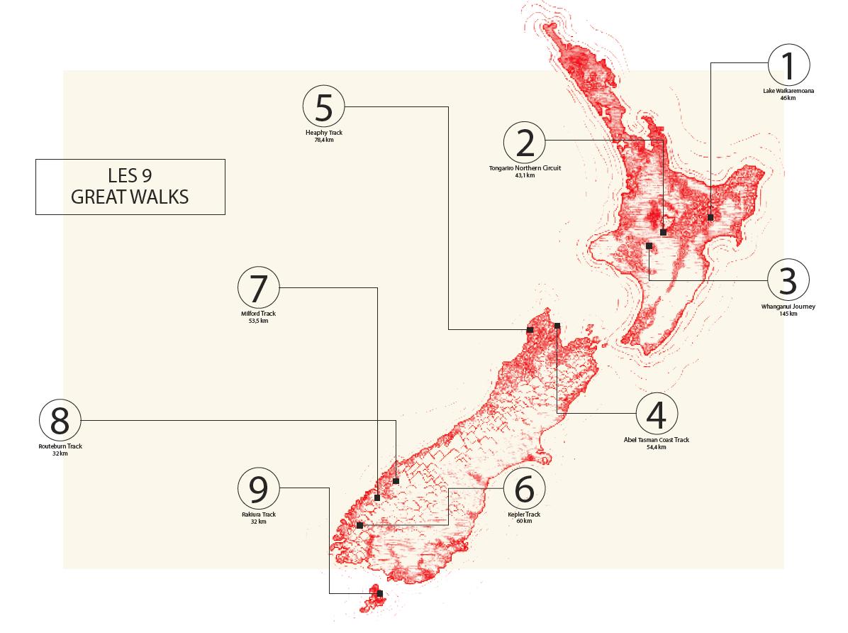 Great Walks NZ HKG11