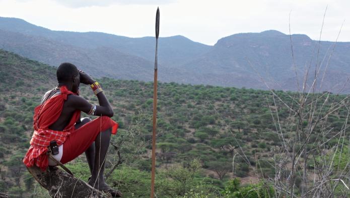 Tribu Maasai vue par Michele Cadei