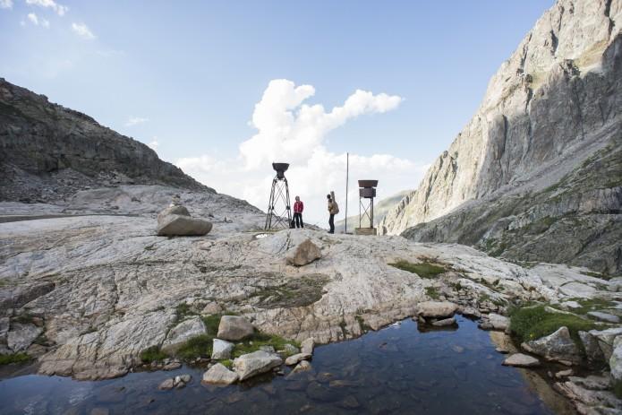 Autour du Portillon, tournée des refuges de montagne Facteurs Chevaux