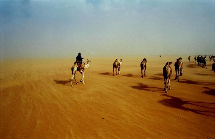 Caravaniers Soudan par Stéphane de Rouville