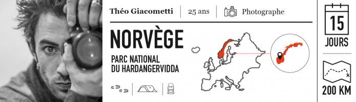 Theo Giacometti votre aventure Norvège