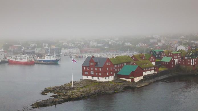 Arrivée Islande