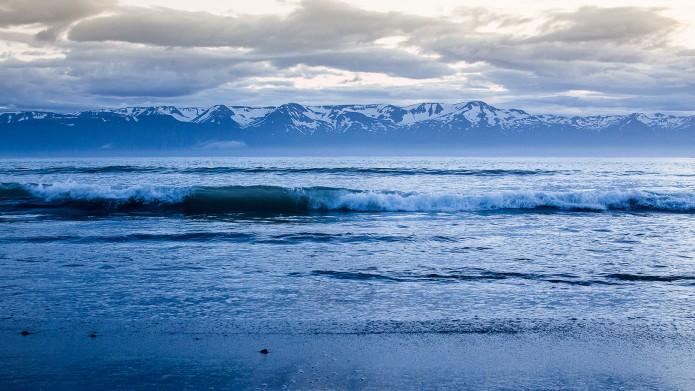Mer et montagne Islande